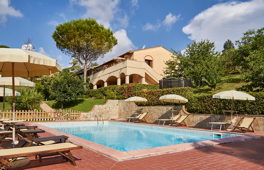In Toscana, holiday villa with character and charm